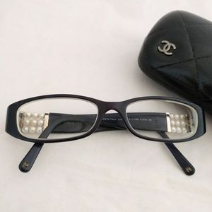CHANEL collection Perle Navy eyeglasses/frames